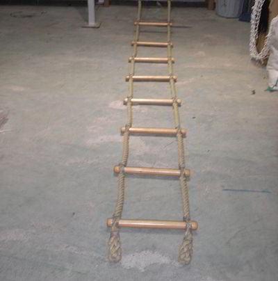 Escalera de cuerda o escalera marina accesorios deportivos - Escaleras de cuerda ...
